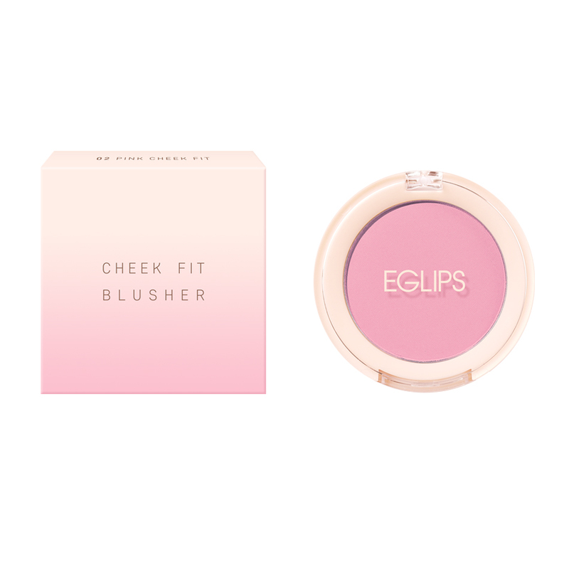 Eglips Cheek Fit Blusher 02 Pink Cheek Fit
