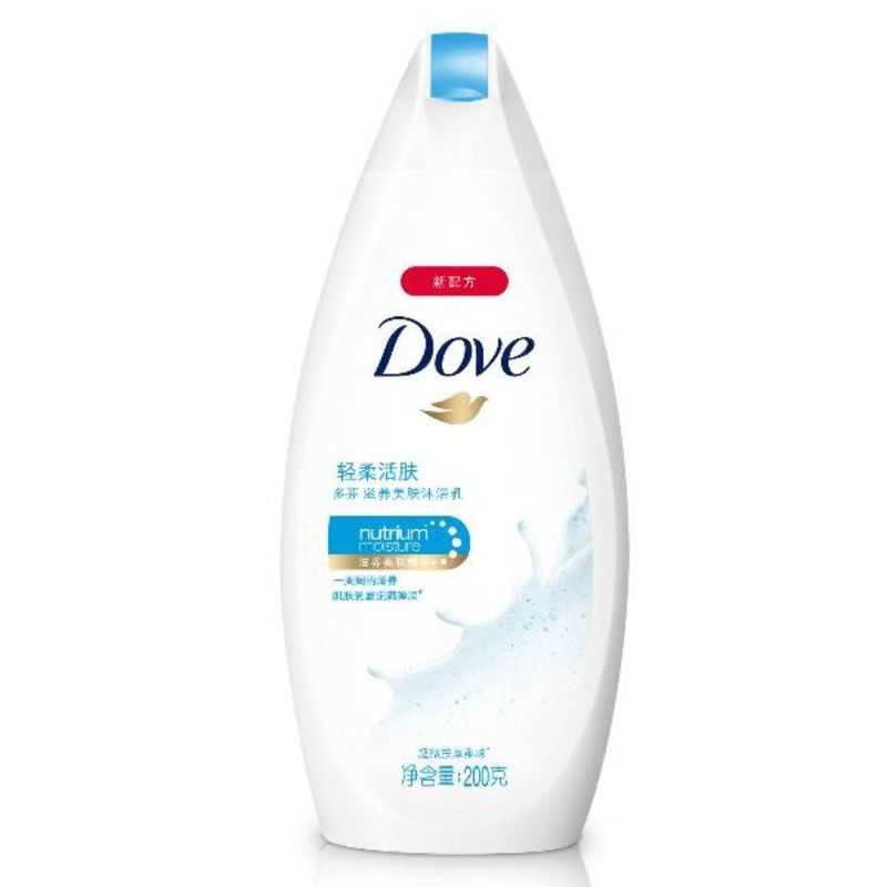 Dove Gentle Exfoliating Body Wash, 200ml