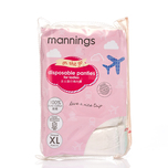 Mannings Ladies Disposable Panty XL 5pcs