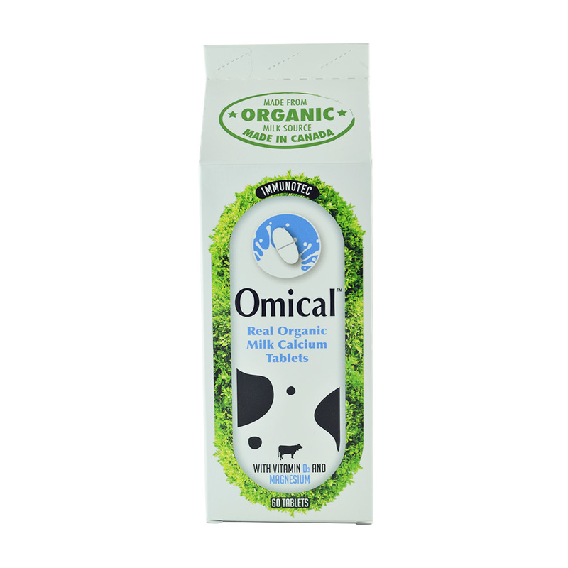 Omical Organic Milk Calcium, 60 tablets