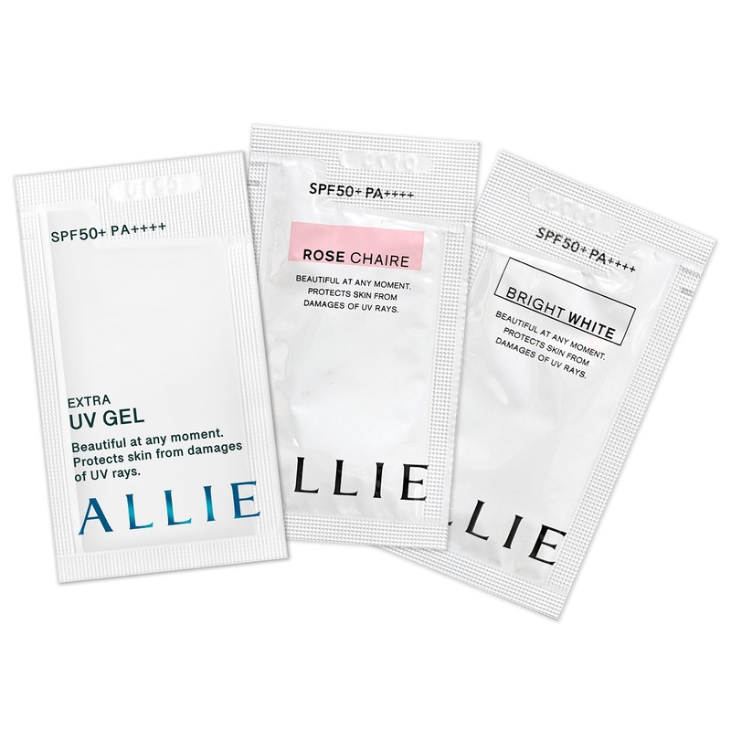 Allie UV Gel Sample Pack 1pc