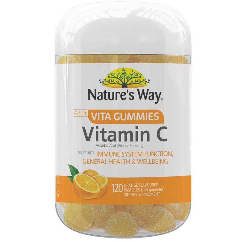 Nature's Way Adult Vitamin C Vita Gummies 120S