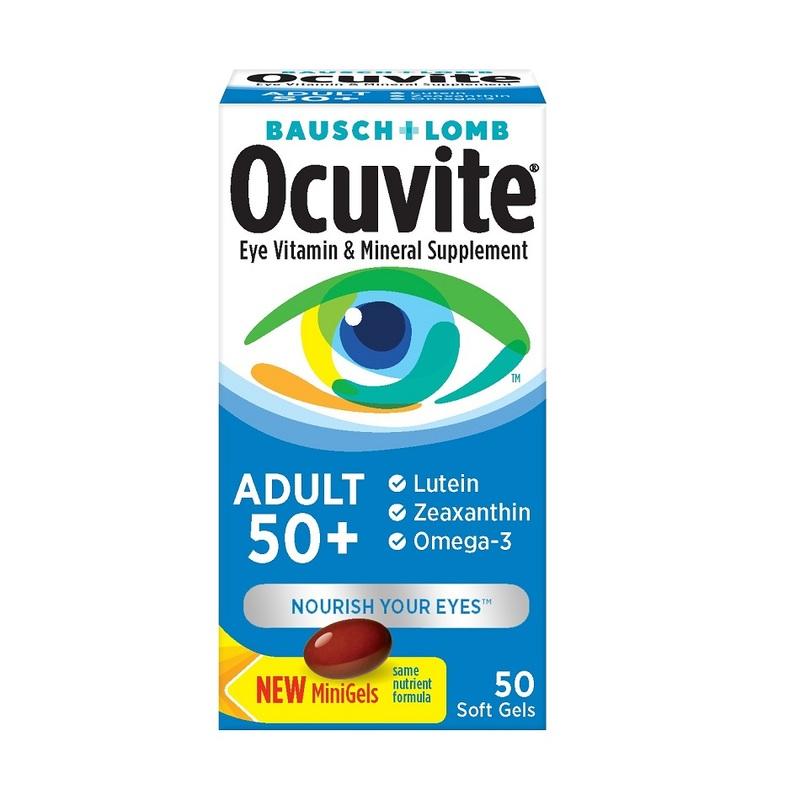 Bausch & Lomb Ocuvite Eye Vitamin Adult 50+, 50pcs