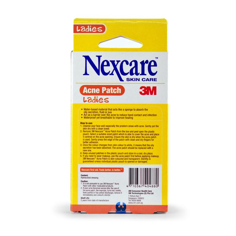 Nexcare Acne Patch for Ladies, 36pcs