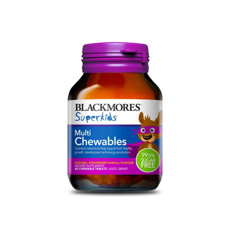 Blackmores Superkids Multi Chewables, 60 tablets