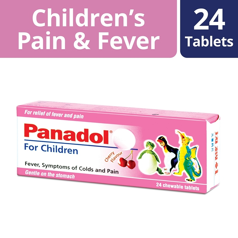 Panadol Children Pain and Fever Relief, 24  tablets