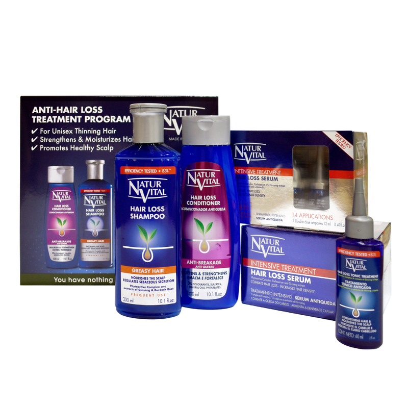Natur Vital Anti-Hair Loss Treatment Program