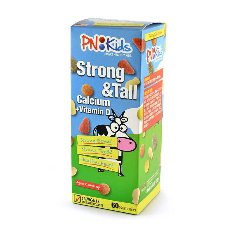 PNKids Strong & Tall Calcium, 60 Gummies