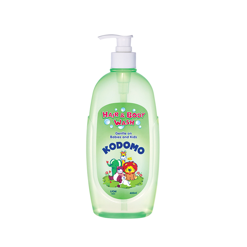 Kodomo Hair & Body Wash, 400ml