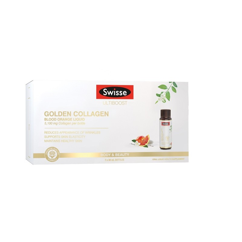 Swisse Golden Collagen Liquid 7X30ml