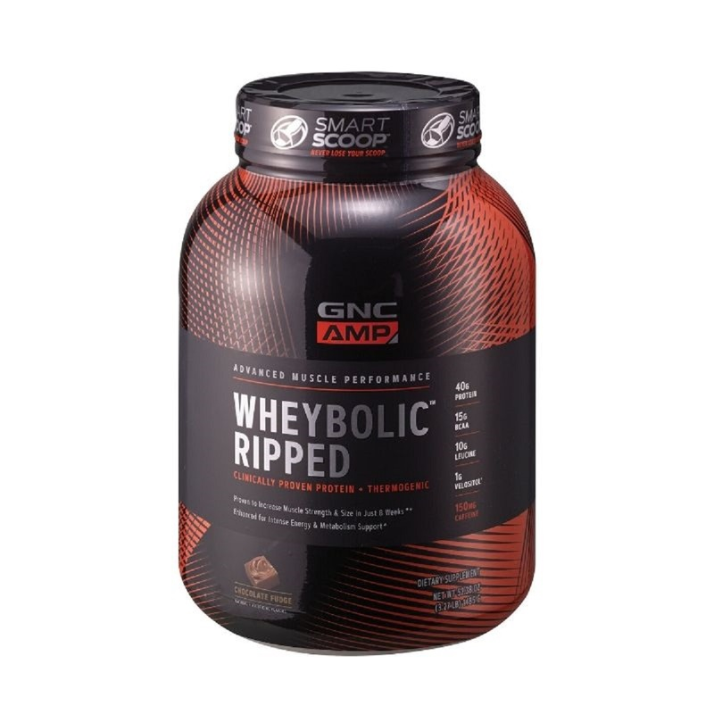 GNC AMP Wheybolic Ripped (Chocolate) 3.27lb