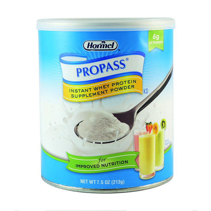 Propass Instant Whey Protein Supplement Powder, 213g