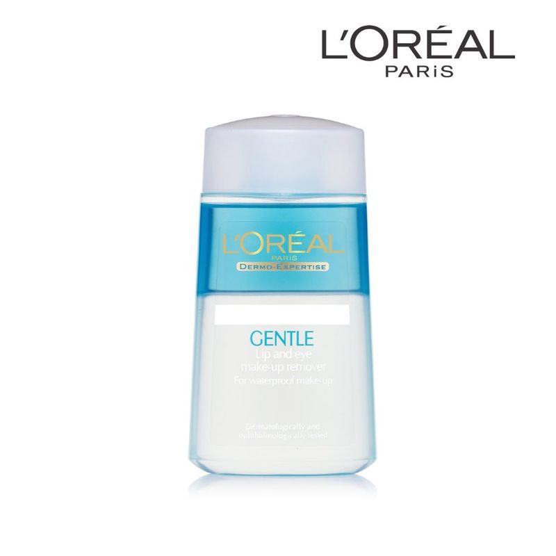 L'Oreal Paris Gentle Lip And Eye Make Up Remover 125ml