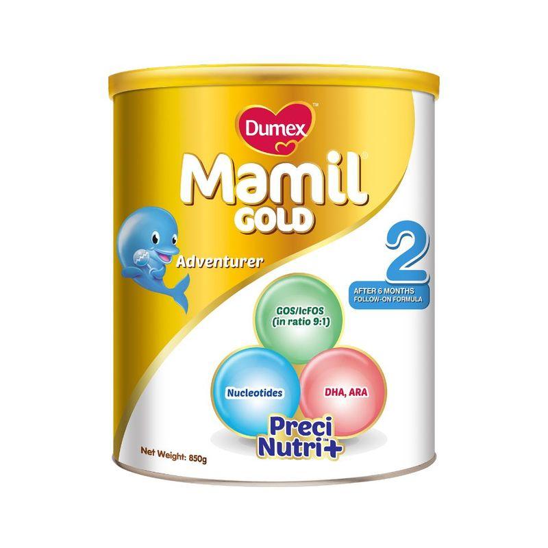 Dumex Mamil Gold Step 2 Baby Milk Formula, 850g