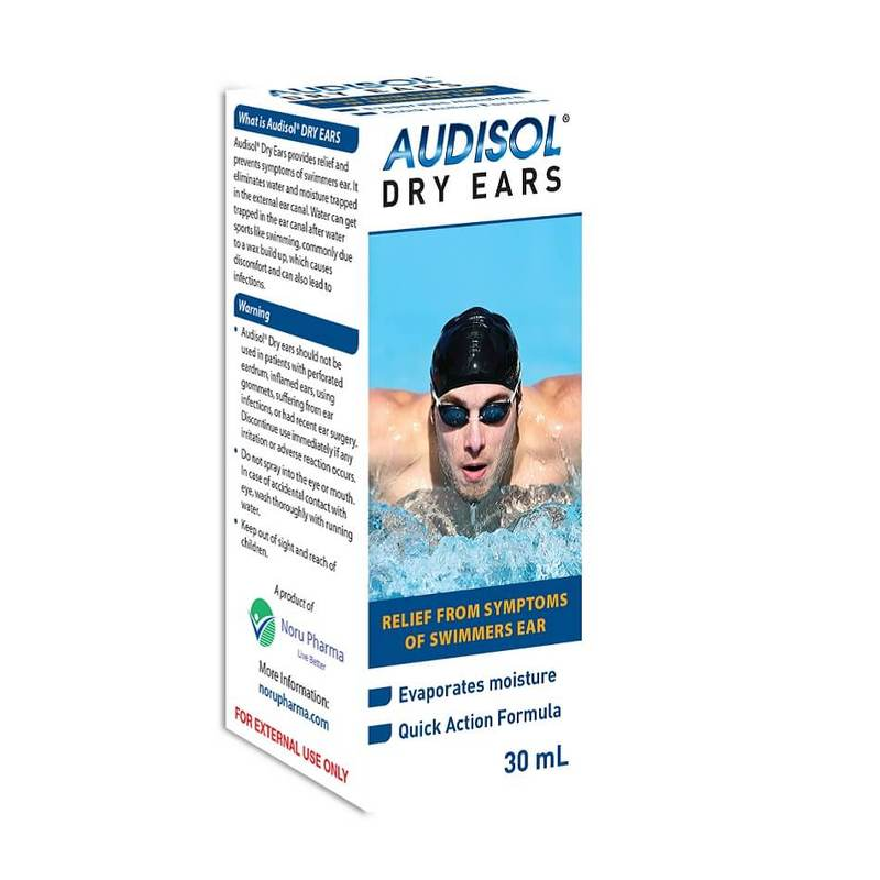 Audisol Dry Ears, 30ml