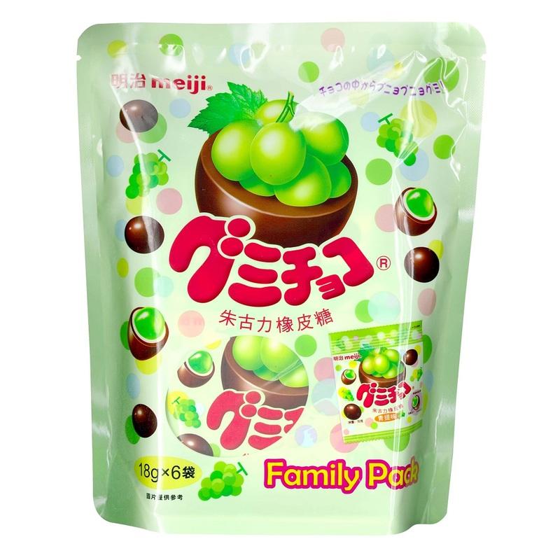 Meiji Muscat Gummy Chocolate 108 g