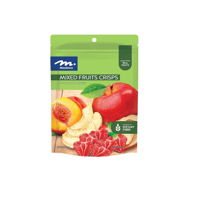 Meadows Mixed Fruits Crisps 55g