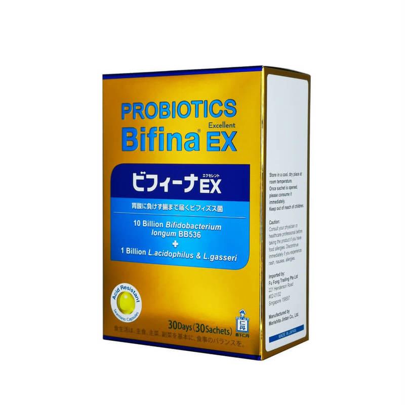 Morishita Jintan Probiotics Bifina EX 10B, 30pcs