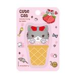 Mannings Cute Cat Moisturising 3D Lip Balm (Strawberry) 3g