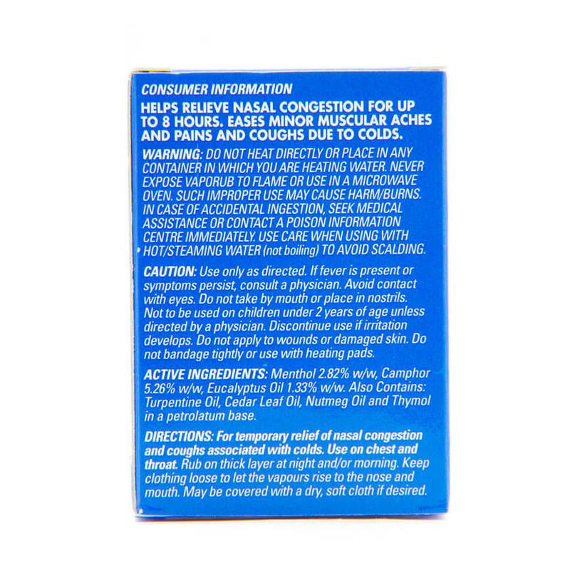 Vicks Vaporub Vaporizing Ointment, 50g