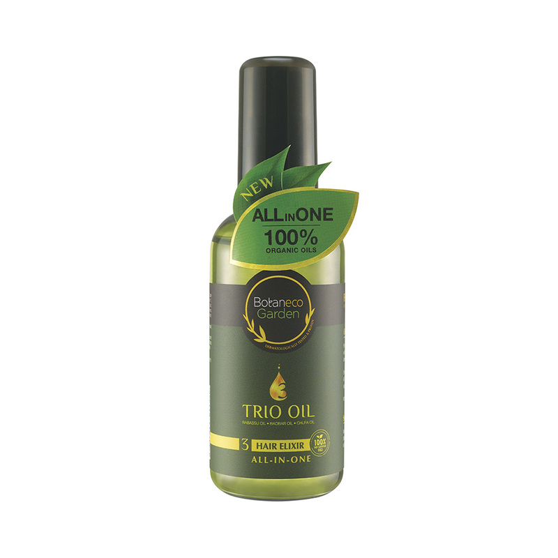Botaneco Garden Trio Oil Hair Elixir All in One, 95ml