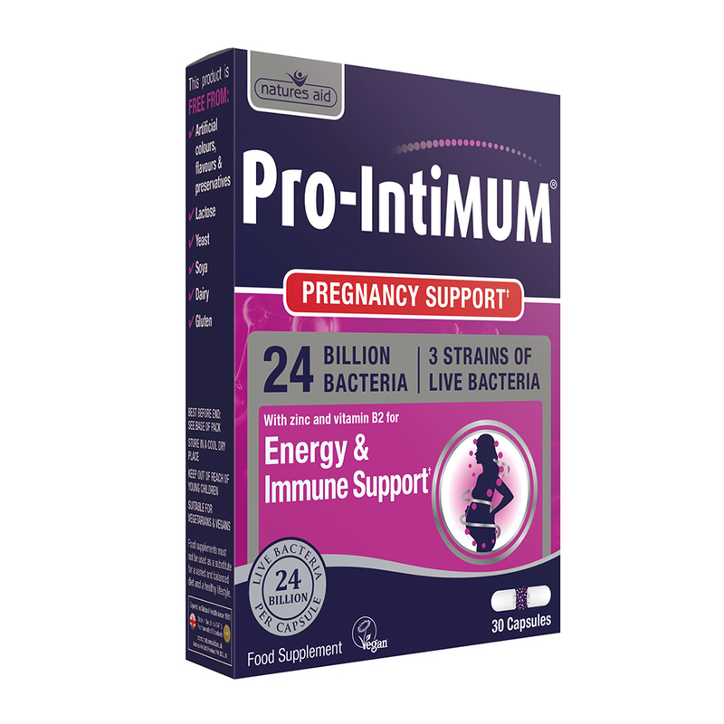 Natures Aid Pro-IntiMUM (24 Billion Bacteria) 30 caps