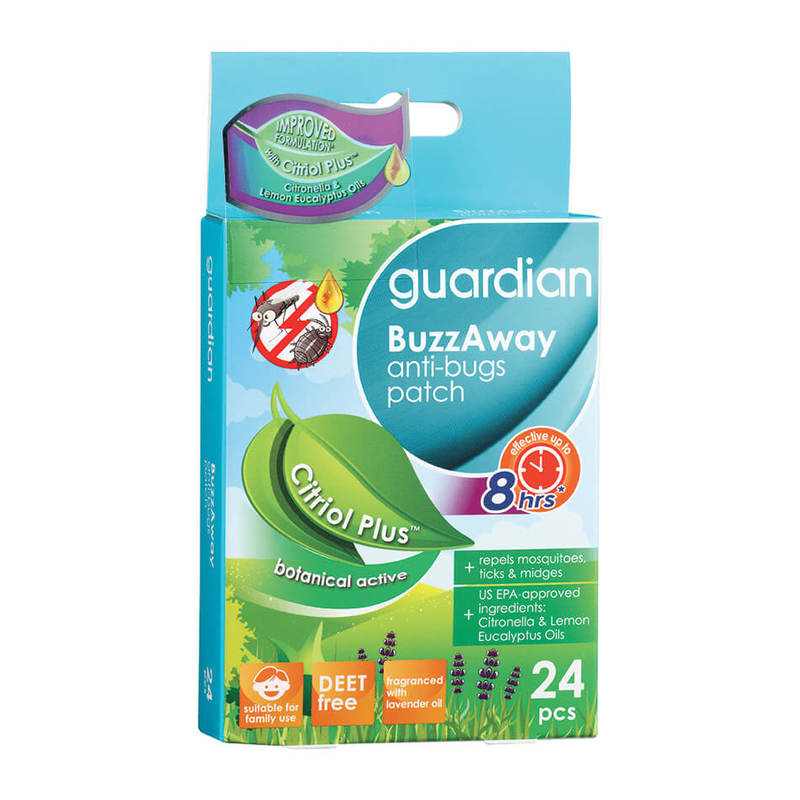 Guardian Buzzaway Patch Citriol Plus, 24pcs