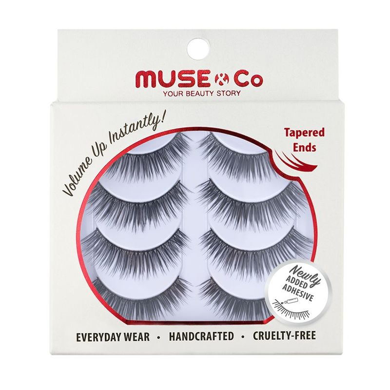 MUSE & Co - Multipack Eyelashes (4 pairs) - Flamboyant