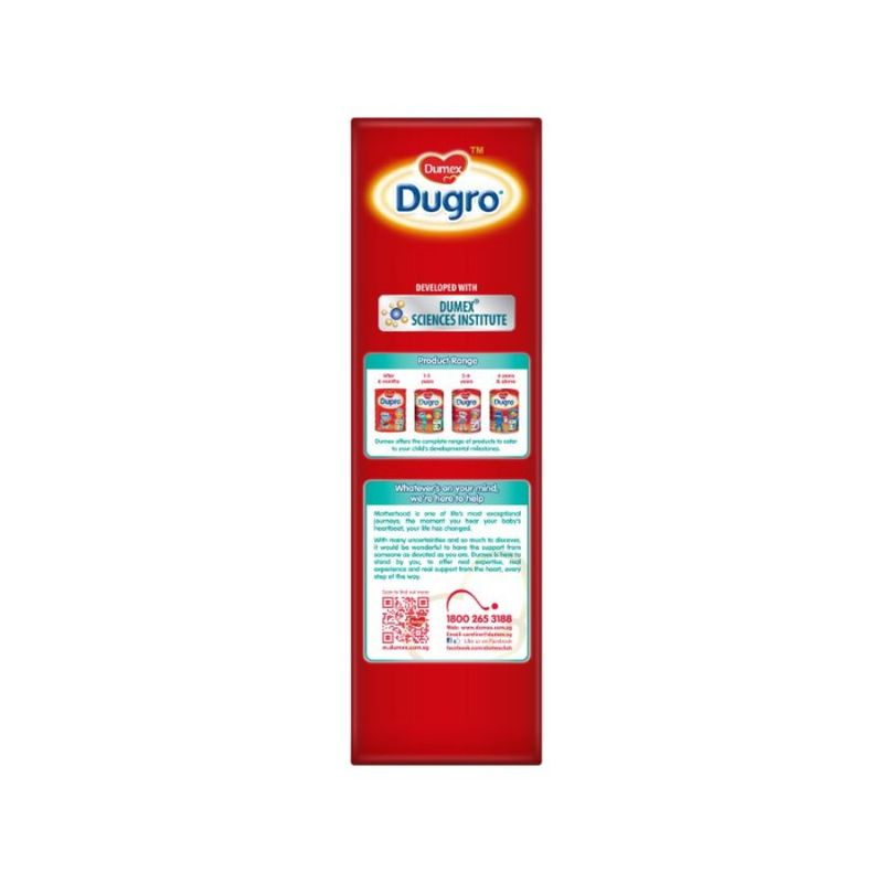 Dumex Dugro Stage 3 Growing Up Baby Milk Formula, 700g