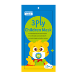 Veyron Children 3-Ply Children Mask, 10 pcs