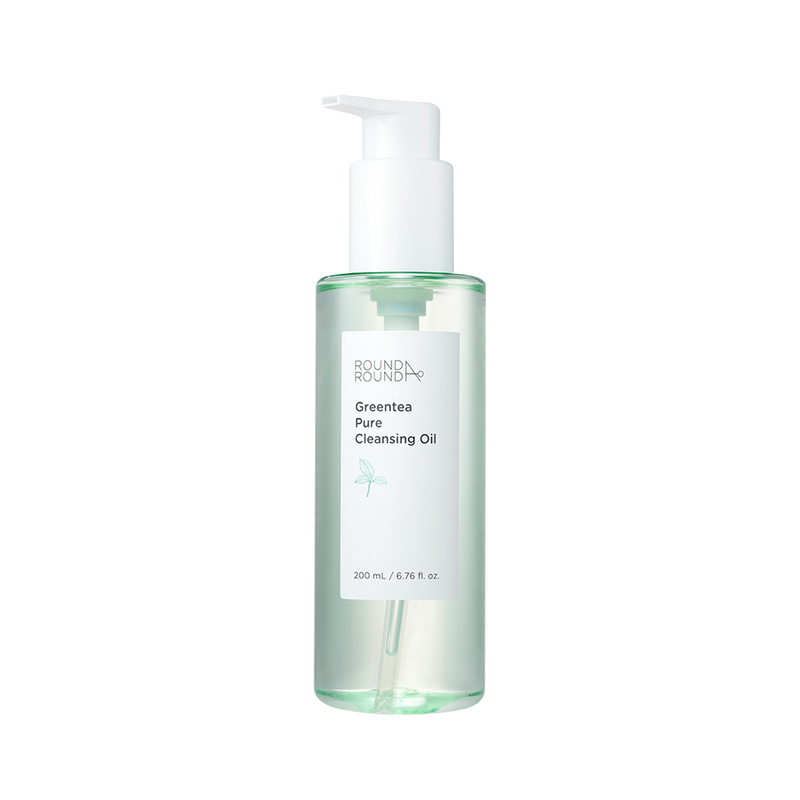 Round A'Round Greentea Pure Cleansing Oil 200ml