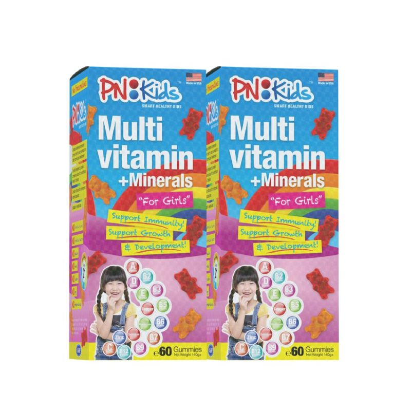 PN kids Girls Twin Pack (120s)