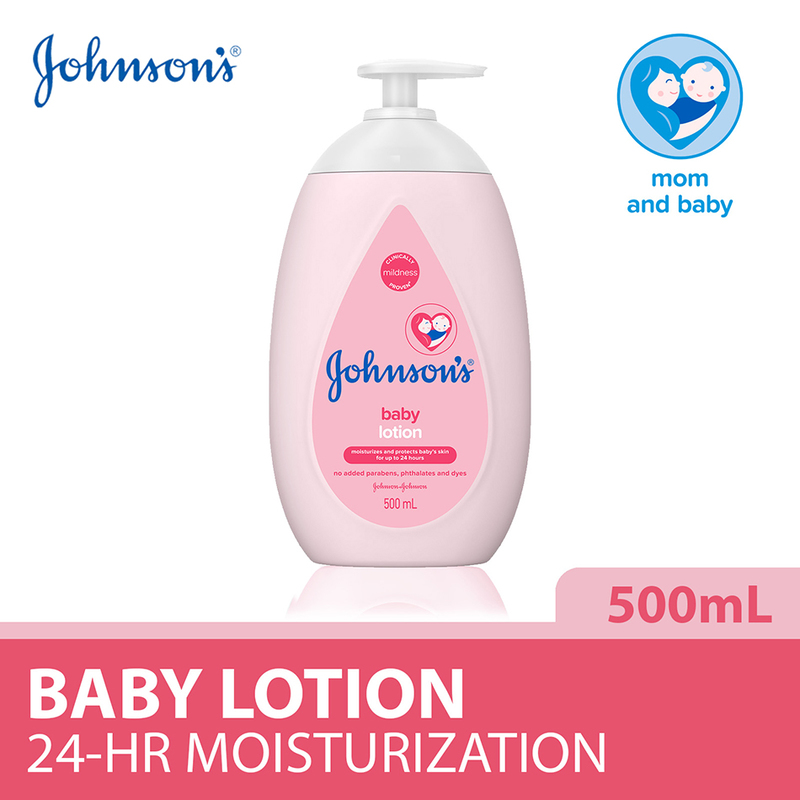 Johnson's Baby Lotion Regular 500ml