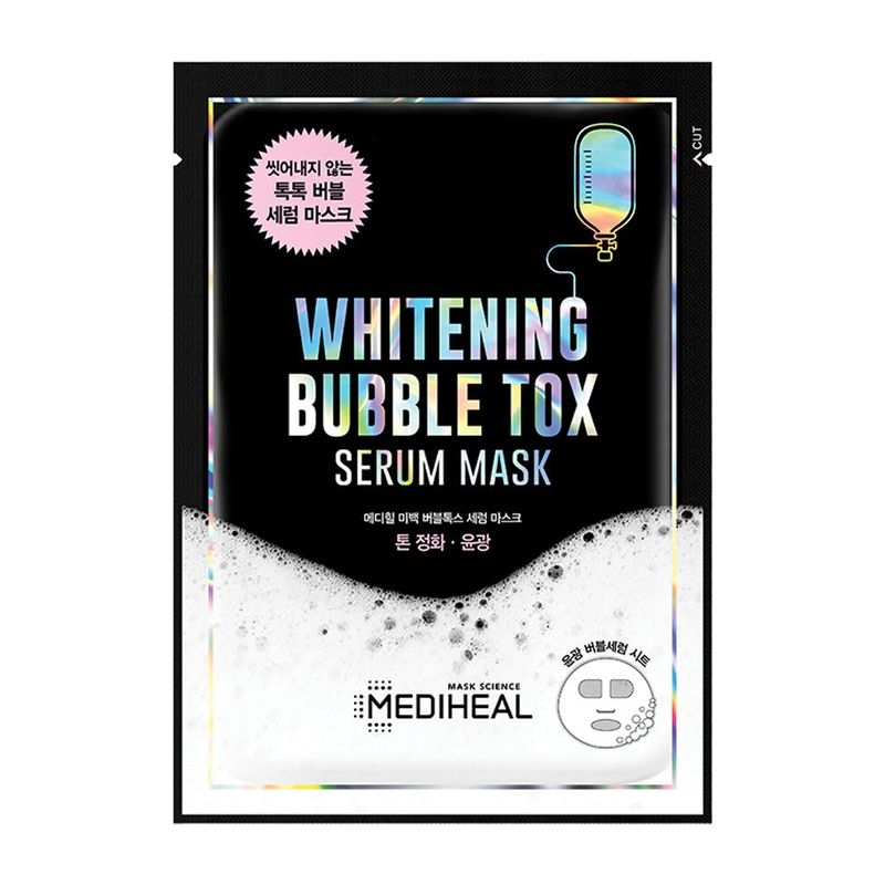 Mediheal Whitening Bubble Tox Serum Mask Pack Sheet 1ml