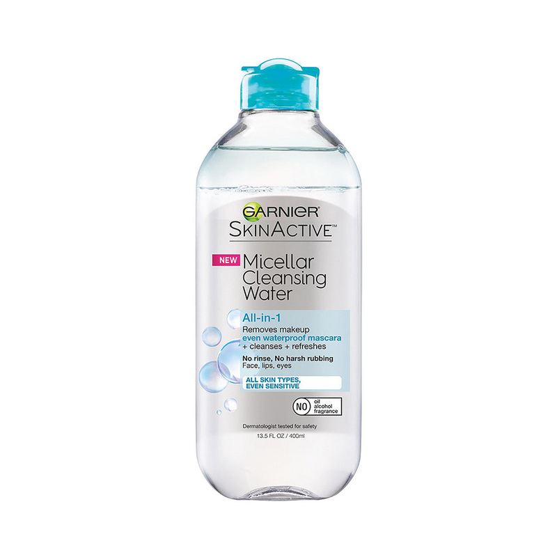 Garnier Skin Active Micellar Cleansing Water & Waterproof Makeup Remover, 400ml