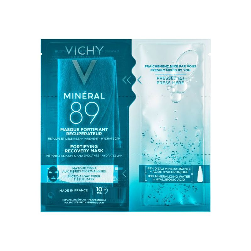 Vichy Mineral 89 Recovery Serum Mask