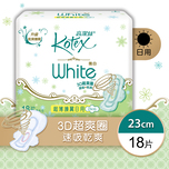 Kotex White Ultra Thin REG 23cm 18pcs