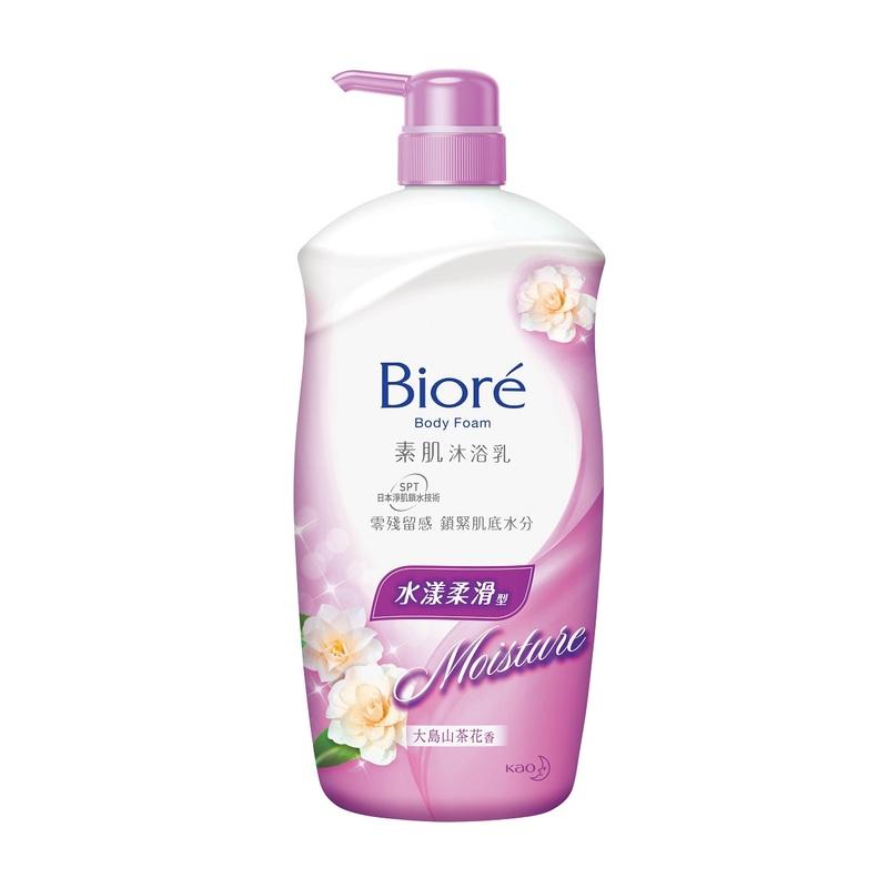 Biore Bath Foam Camellia 1000ml