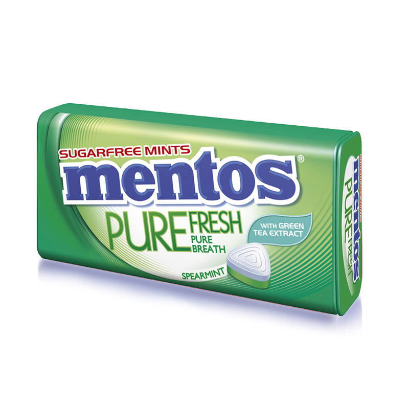 Mentos Pure Fresh Spearmint, 35g