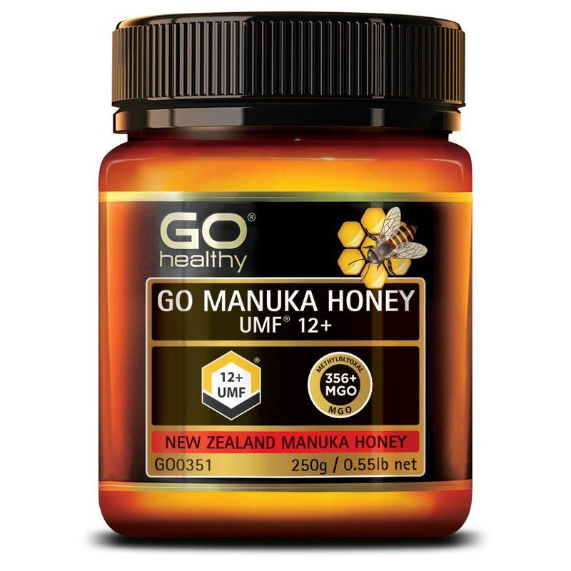GO Healthy Manuka Honey UMF 12+, 250g