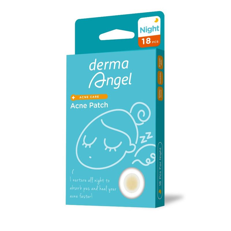 Derma Angel Acne Patch Night, 18pcs
