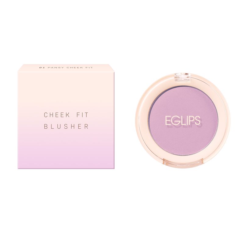 Eglips Cheek Fit Blusher 01 Pansy Cheek Fit