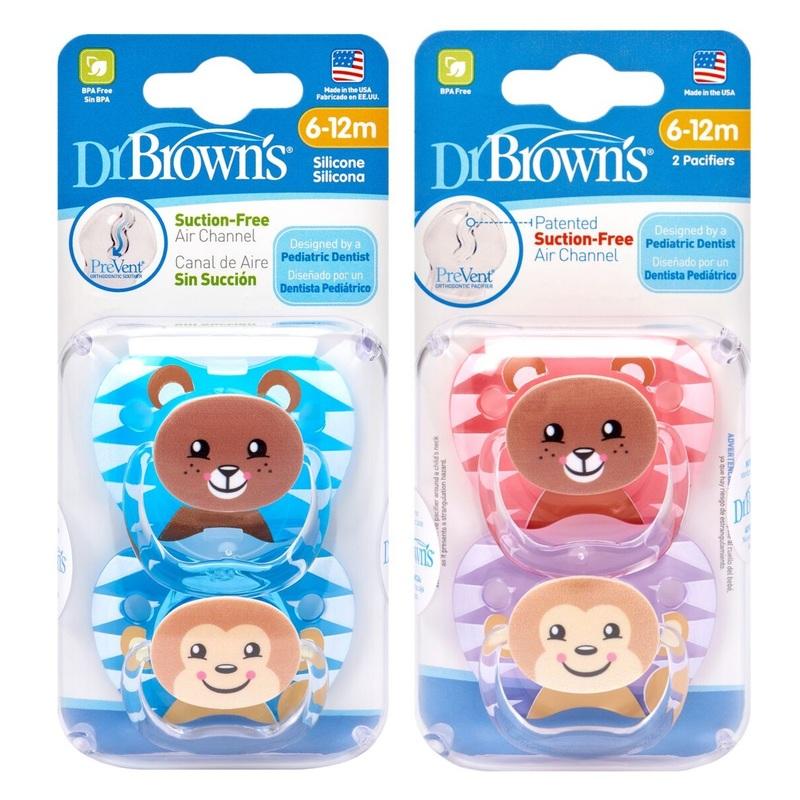 Dr.Brown's Prevent Pacifier (6-12M)X2pcs