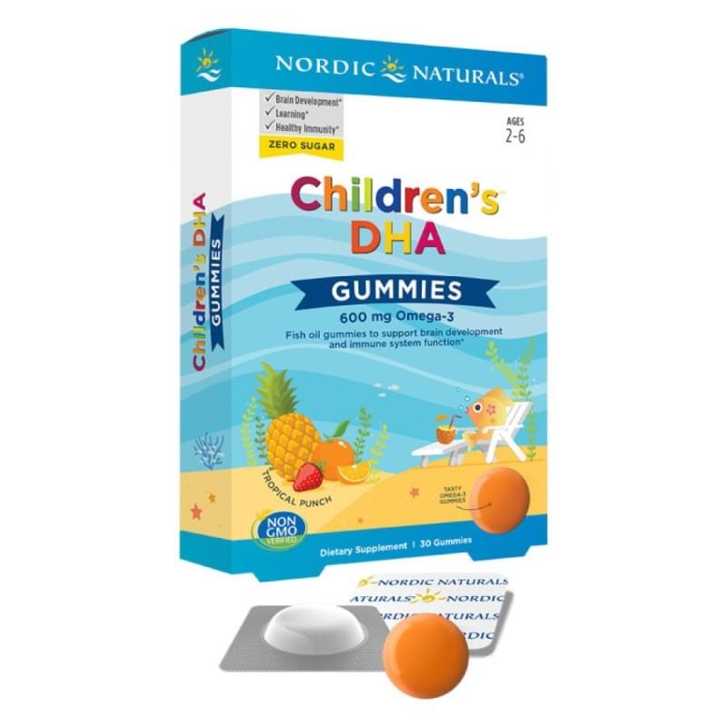 Nordic Naturals Children's DHA Gummies 30 Gummies