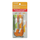 Combi: Baby Toothbrush Set -Toothbrush X3pcs
