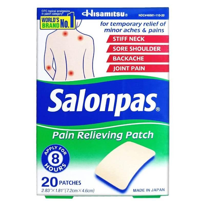 Salonpas Medicated Plaster 20's