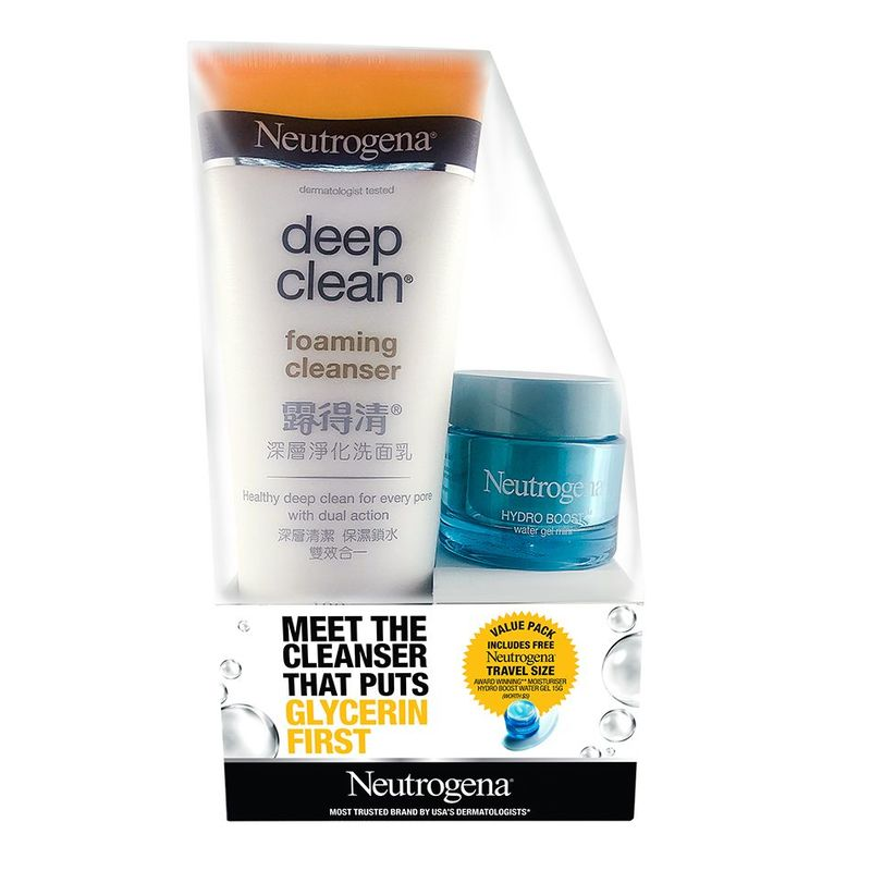 Neutrogena DC Foam Cleanser Twin Pack, 100g
