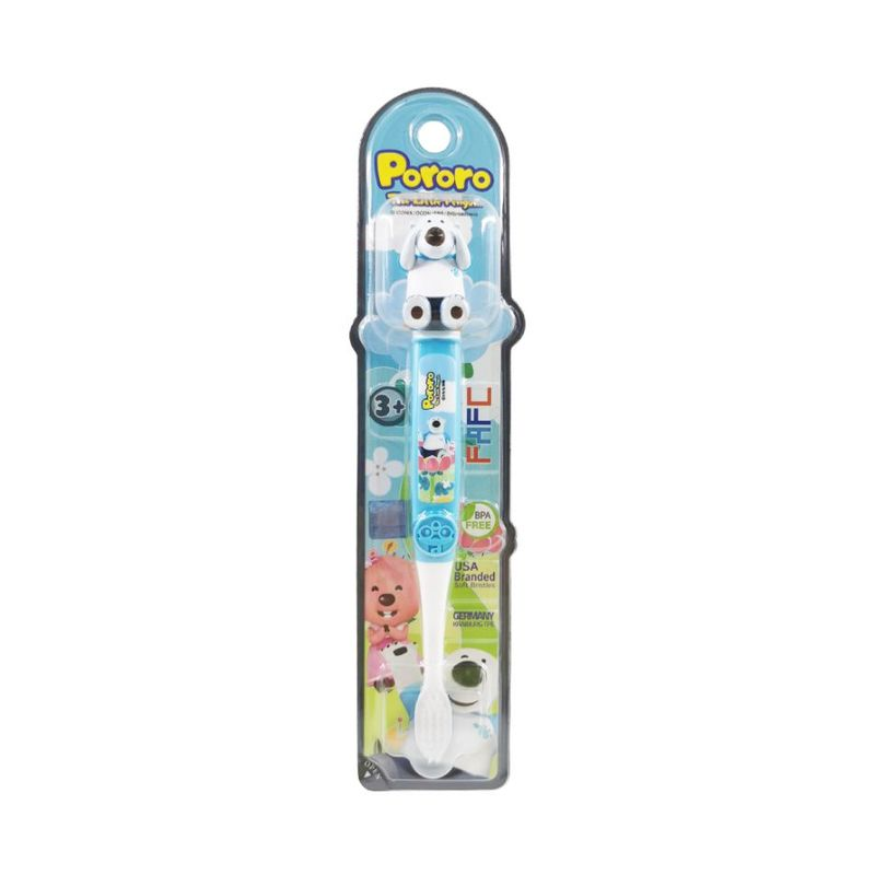 FAFC Pororo Kids Toothbrush - Poby Figurine
