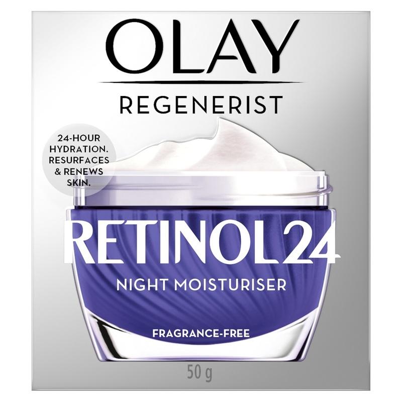 Olay Regenerist Retinol24 Night Moisturiser Fragrance-Free 50 g