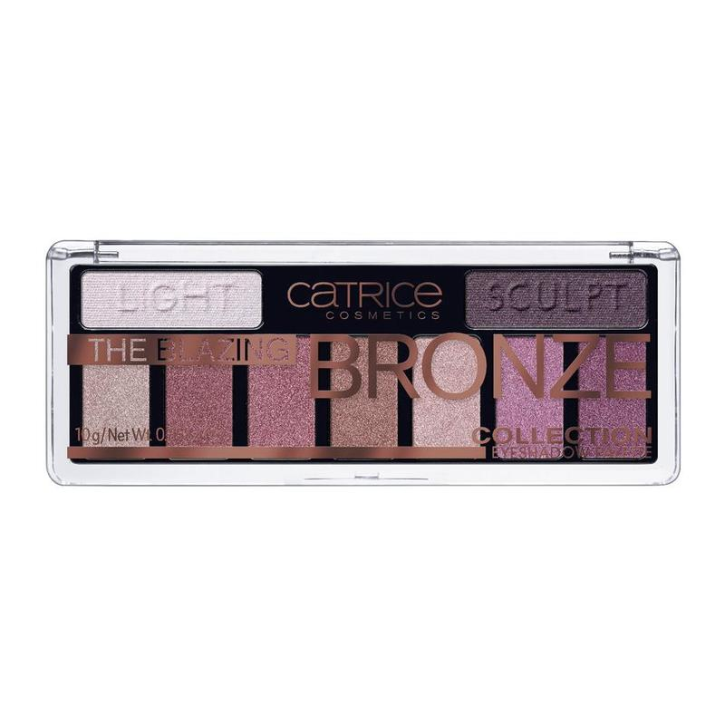 Catrice The Blazing Bronze Collection Eyeshadow Palette 010